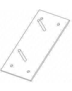 Puffer-Montageplatte H500-B250-T10/vz