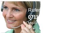 Rufen Sie uns an: 0711-8879630